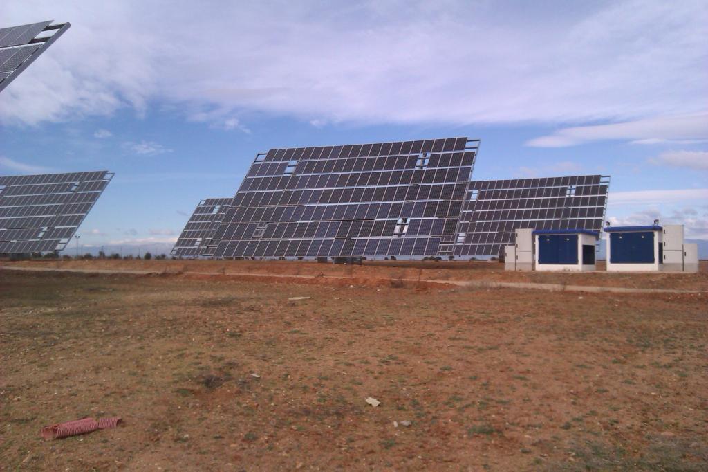 Planta fotovoltaica proyectada por Nido's