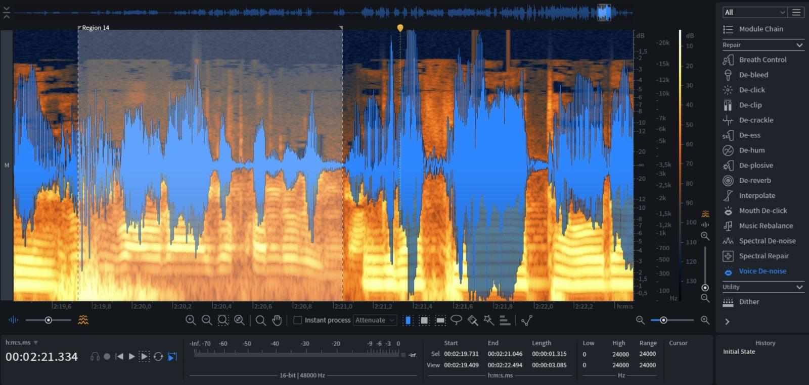 Analisis audio