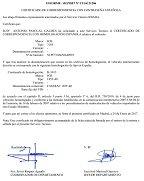 certificado de correspondencia
